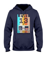 Level 13 Quarantined 13rd Birthday Gamer Hooded Sweatshirt thumbnail