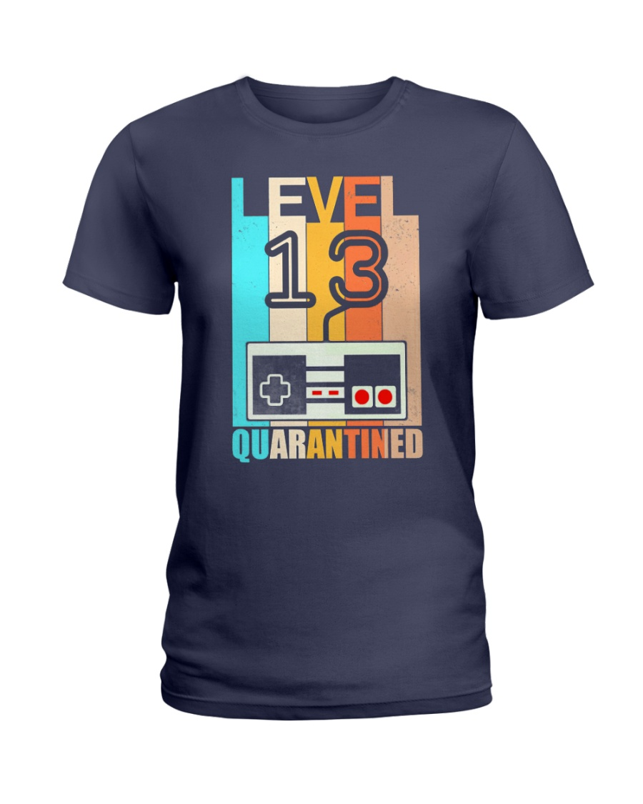 Level 13 Quarantined 13rd Birthday Gamer Ladies T-Shirt