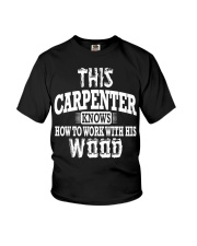 This Carpenter Knows How To Work With This Wood Youth T-Shirt thumbnail