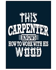 This Carpenter Knows How To Work With This Wood 11x17 Poster thumbnail