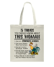 5 Things You Should Know About Chicken Mom Tote Bag thumbnail