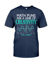 Math Puns Are Sine of Creativity Classic T-Shirt tile
