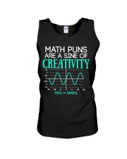 Math Puns Are Sine of Creativity Unisex Tank thumbnail