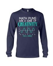 Math Puns Are Sine of Creativity Long Sleeve Tee thumbnail