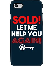 Realtor Sold Let Me Help You Again Phone Case thumbnail