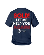 Realtor Sold Let Me Help You Again Youth T-Shirt thumbnail