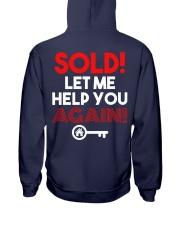 Realtor Sold Let Me Help You Again Hooded Sweatshirt thumbnail