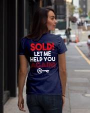 Realtor Sold Let Me Help You Again Ladies T-Shirt lifestyle-women-crewneck-back-1