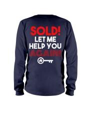 Realtor Sold Let Me Help You Again Long Sleeve Tee thumbnail