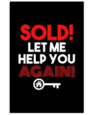 Realtor Sold Let Me Help You Again 11x17 Poster thumbnail
