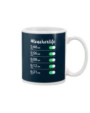 Teacher Life Alarm Clock Mug thumbnail