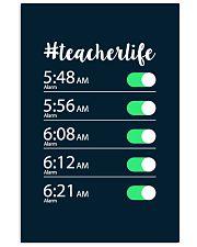 Teacher Life Alarm Clock 11x17 Poster thumbnail