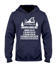Carpenter Hourly Rates Hooded Sweatshirt thumbnail