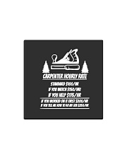 Carpenter Hourly Rates Square Magnet thumbnail