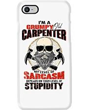 I Am A Grumpy Old Carpenter Phone Case thumbnail