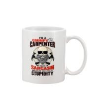I Am A Grumpy Old Carpenter Mug thumbnail