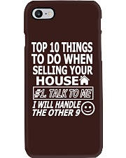 Top Ten Things To Do Of Real Estate Agent Phone Case thumbnail