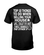 Top Ten Things To Do Of Real Estate Agent Classic T-Shirt thumbnail