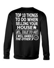 Top Ten Things To Do Of Real Estate Agent Crewneck Sweatshirt thumbnail