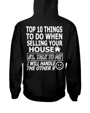 Top Ten Things To Do Of Real Estate Agent Hooded Sweatshirt thumbnail