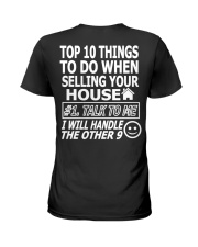 Top Ten Things To Do Of Real Estate Agent Ladies T-Shirt tile