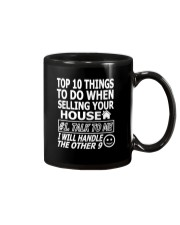 Top Ten Things To Do Of Real Estate Agent Mug thumbnail