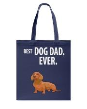 Dachshund Best Dachshund Dad Ever Tote Bag thumbnail