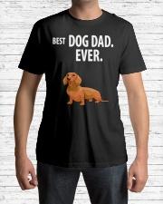 Dachshund Best Dachshund Dad Ever Classic T-Shirt lifestyle-mens-crewneck-front-1