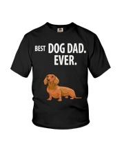 Dachshund Best Dachshund Dad Ever Youth T-Shirt thumbnail