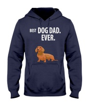 Dachshund Best Dachshund Dad Ever Hooded Sweatshirt thumbnail