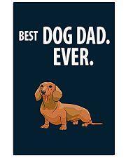 Dachshund Best Dachshund Dad Ever 11x17 Poster thumbnail