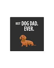 Dachshund Best Dachshund Dad Ever Square Magnet thumbnail