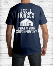 Realtor I Sell Houses Classic T-Shirt lifestyle-mens-crewneck-back-1