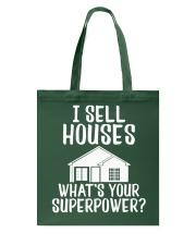 Realtor I Sell Houses Tote Bag thumbnail
