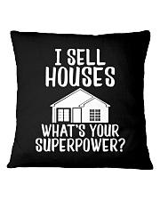Realtor I Sell Houses Square Pillowcase thumbnail