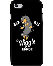 Funny Dachshund Do The Wiggle Dance Phone Case thumbnail