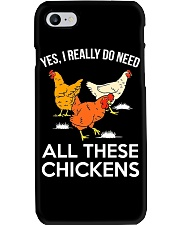 Yes I Really Need All These Chickens Phone Case thumbnail