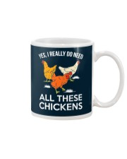 Yes I Really Need All These Chickens Mug thumbnail