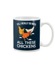 Yes I Really Need All These Chickens Mug thumbnail