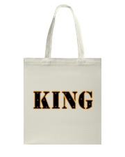 KING Design Tote Bag thumbnail