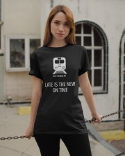 Best Gift for Ottawa LRT riders Classic T-Shirt apparel-classic-tshirt-lifestyle-19