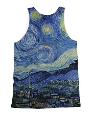 The Starry Night All-over Unisex Tank back