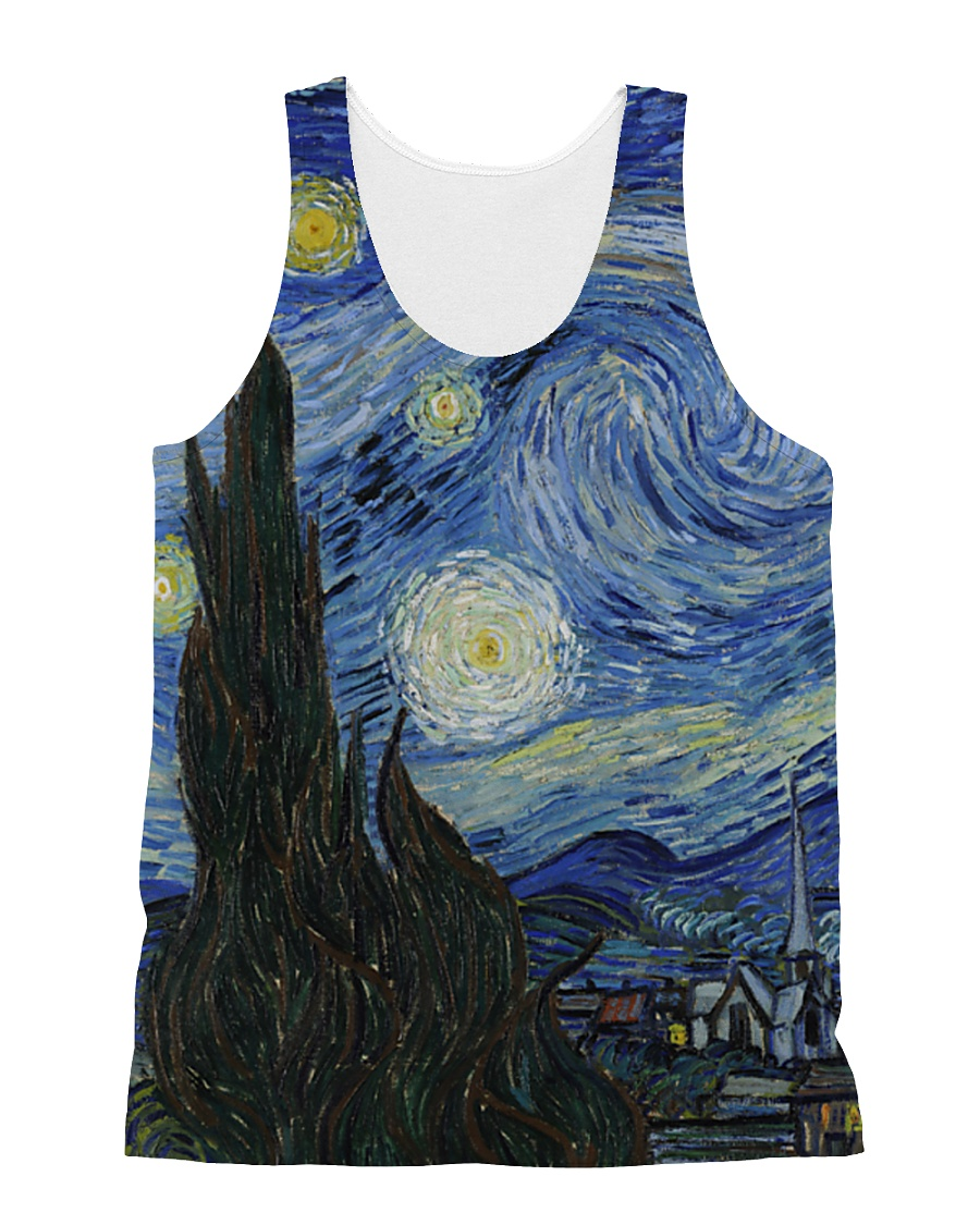 The Starry Night All-over Unisex Tank
