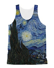 The Starry Night All-over Unisex Tank front