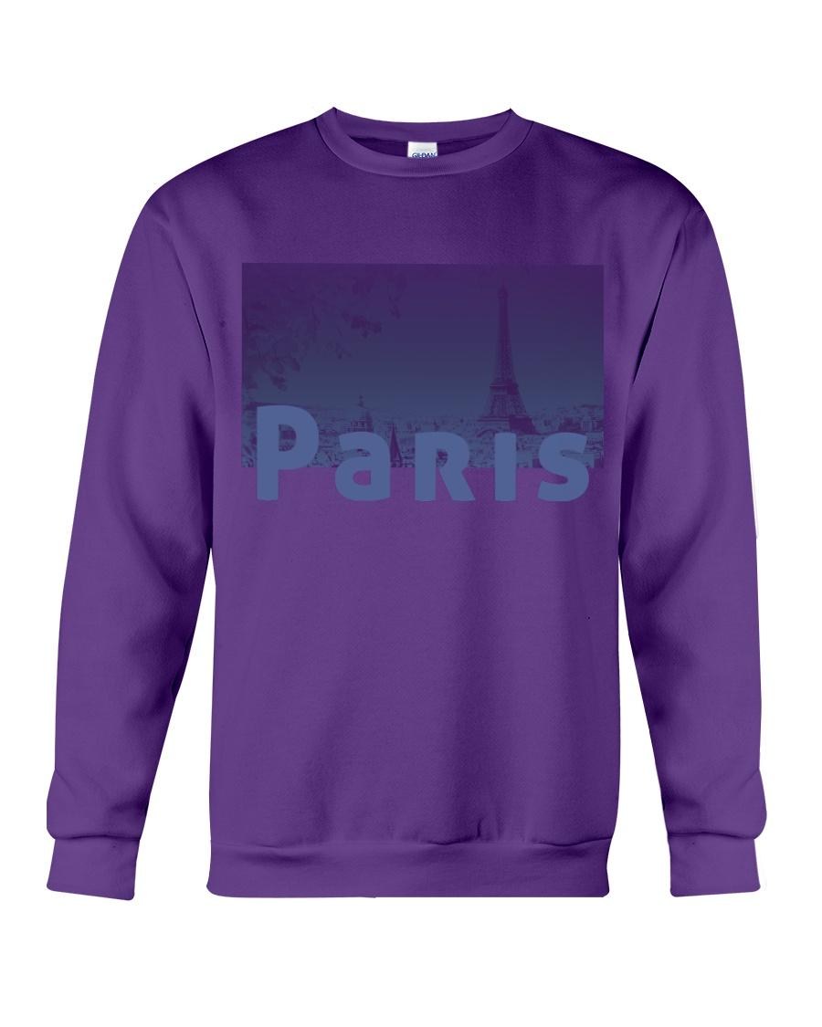 Paris Design Crewneck Sweatshirt