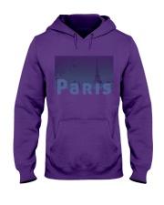 Paris Design Hooded Sweatshirt thumbnail