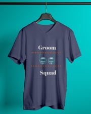 Groom Squad Wedding Party Cool T-shirt tshirts V-Neck T-Shirt lifestyle-mens-vneck-front-3