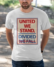 Colbertlateshow T-shirt United We Stand Classic T-Shirt apparel-classic-tshirt-lifestyle-front-50