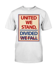 Colbertlateshow T-shirt United We Stand Classic T-Shirt front