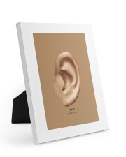 Ear by Jannet Mercier 8x10 Easel-Back Gallery Wrapped Canvas thumbnail